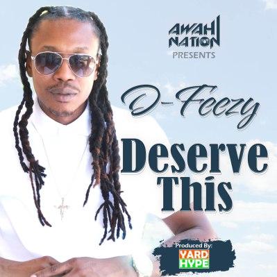 DFeezy Deserve cover